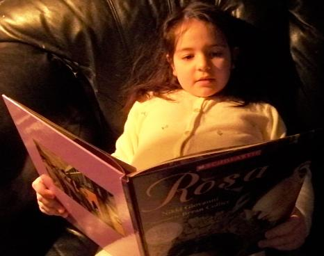 Reading about Rosa Parks on the ...
