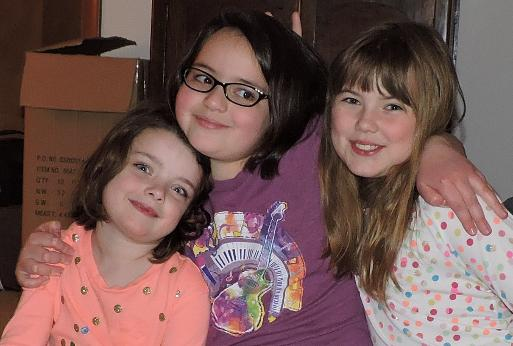 ... Chloe, and Julianna visited us on December 30.