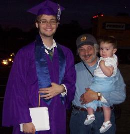 Nolan's graduation (June 8, 2005)