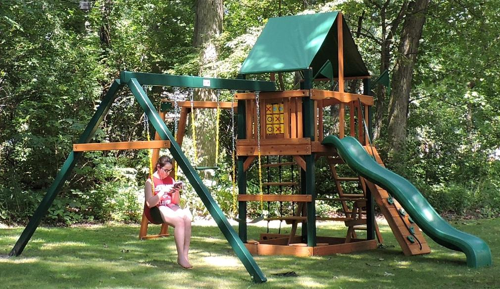 My new play set.  (July 29, 2016)