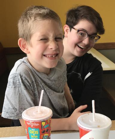 A lunch date with Brayden (August 8, 2018)