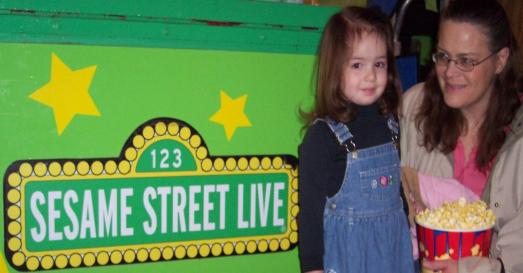 We went to see Sesame Street Live!