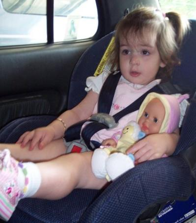 A car ride with Dagmar.  (May 30, 2006)