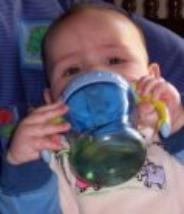 I'm drinking from a sippy cup at 5 months.