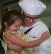 My brother Nolan's Navy graduation. (August 15, 2008)
