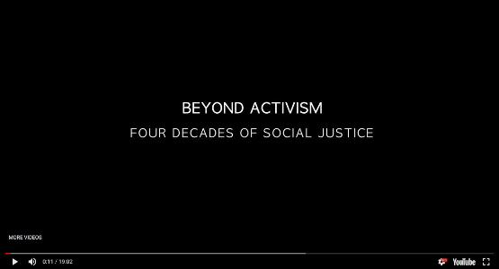 Beyond Activism:  Four Decades of Social Justice