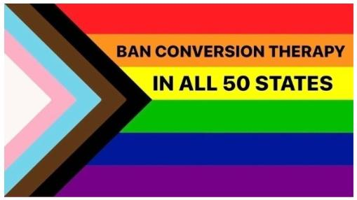 Ban conversion therapy in all 50 states