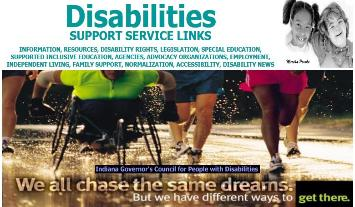 Disabilities:  Support Service Links