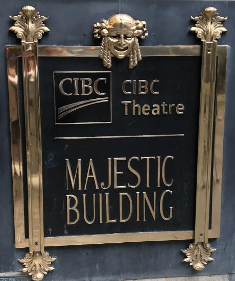 The CIBC Theatre opened in 1906.