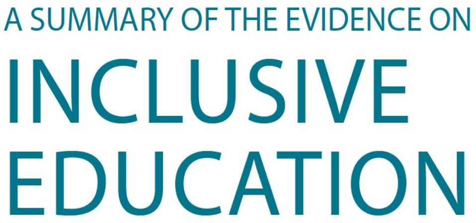 A Summary of the Evidence on Inclusive Education