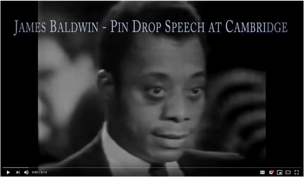 James Baldwin | Pin Drop Speech