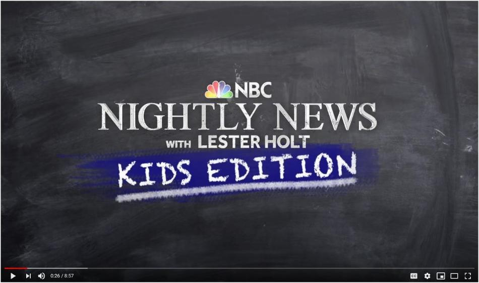 NBC Nightly New with Lester Hold: Kids Edition