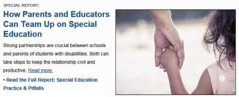 How Parents and Eductors Can Team Up on Special Education
