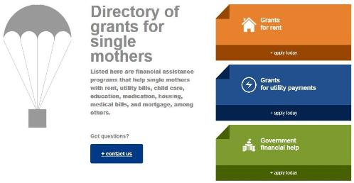 Single Mothers Grants