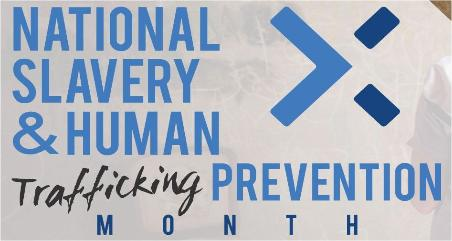 National Slavery & Human Trafficking Prevention Month