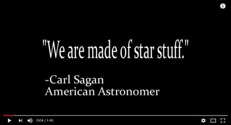 We are made of star stuff