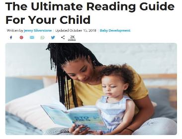The Ultimate Reading Guide For Your Child